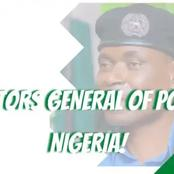 List Of Former Inspector General Of Police From 1964-2019