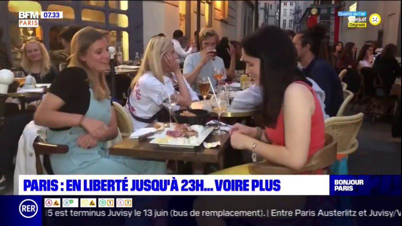 Paris: en liberté jusqu'à 23 heures... voire plus