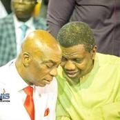 Pastor Adeboye Is 79Years Today, See Photos Of Him And Bishop Oyedepo Giving Us Friendship Goals.