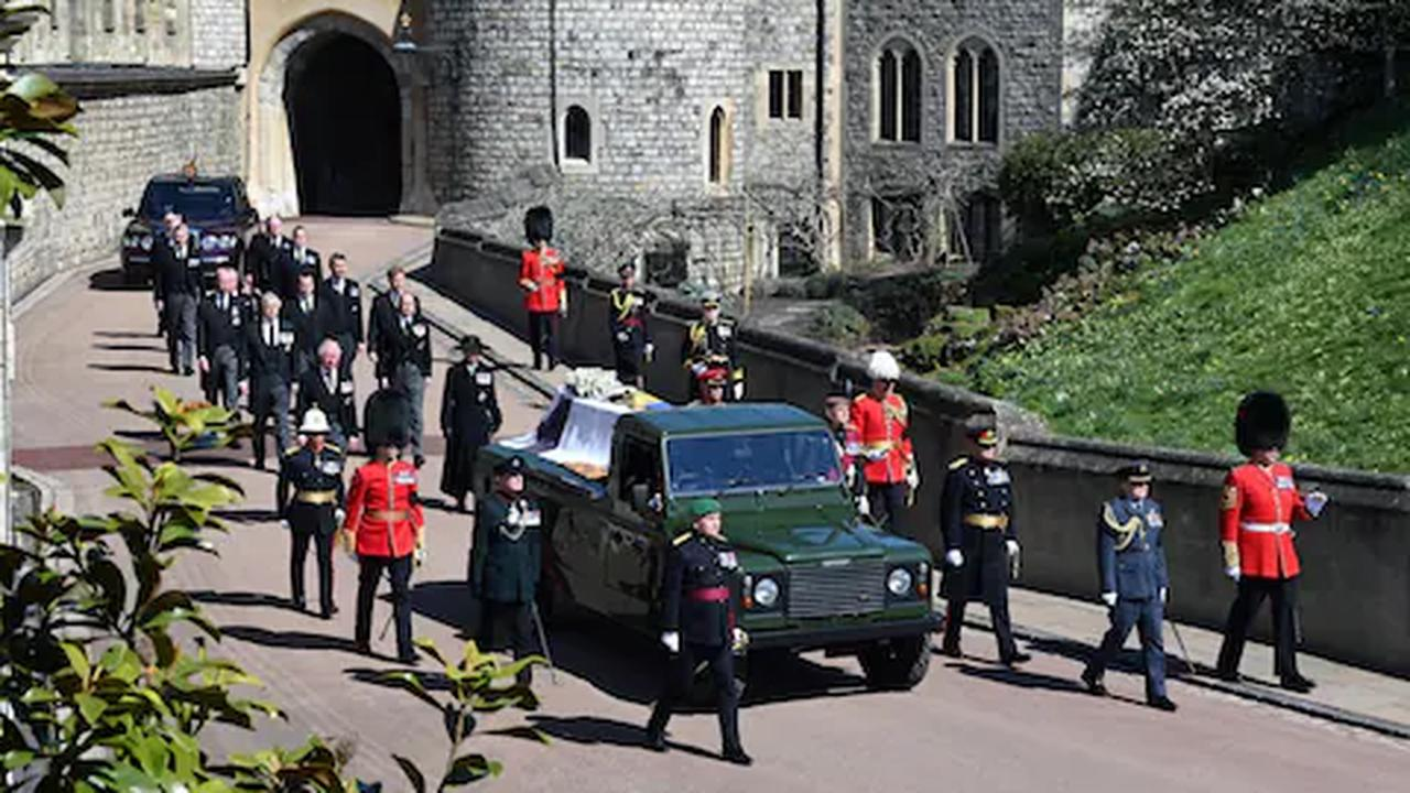 Prince Philip's custom-made Land Rover hearse design unveiled