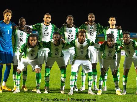 See The Super Eagles Position In The World Ranking Released By FIFA