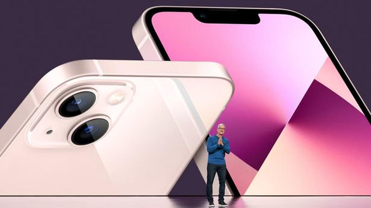 Three confirms UK iPhone 13 pre order date and time