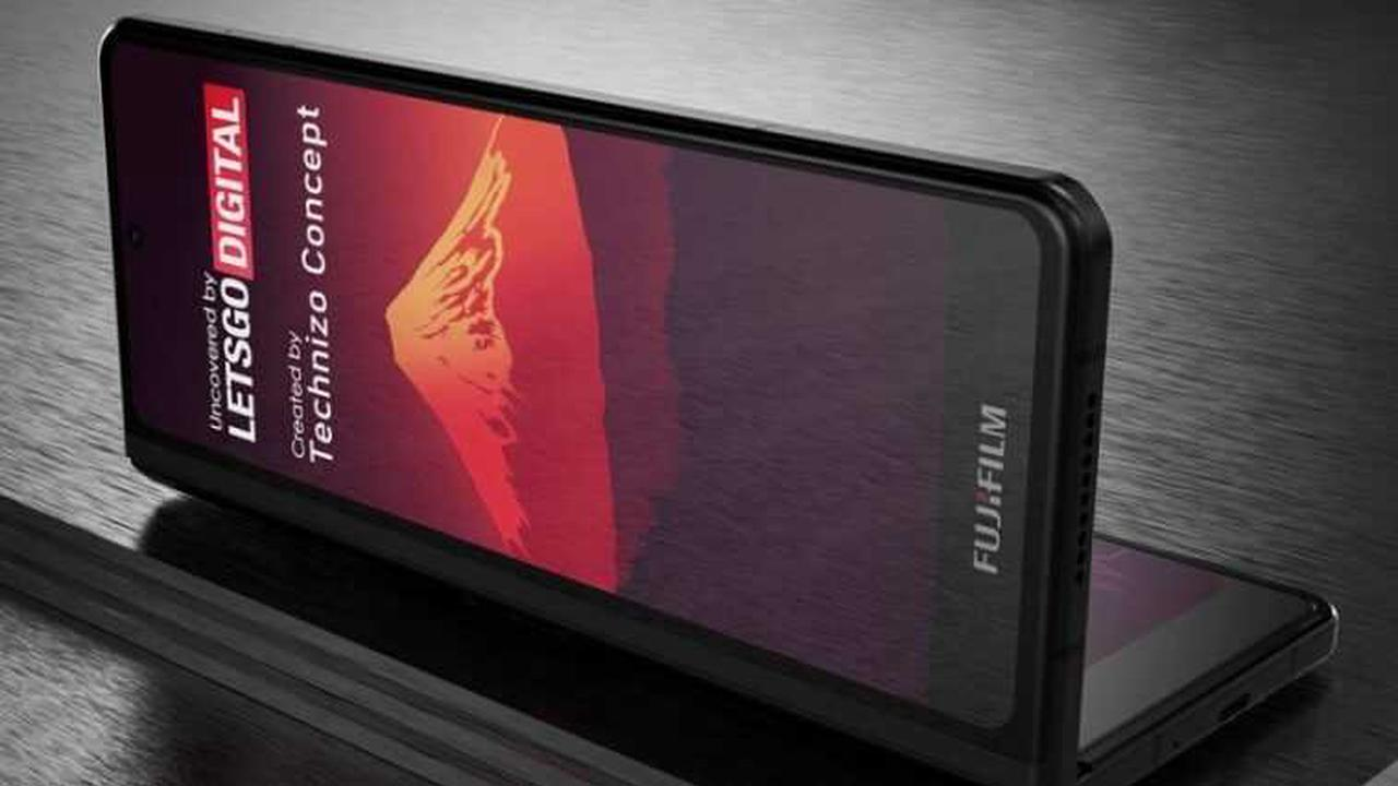 Fujifilm brevète un smartphone pliable et peut déjà imaginer à quoi il ressemblera