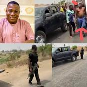 Nigerians on social media react to the attempted arrest of Yoruba activist, Sunday Igboho