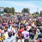 'This Man Ruto! He is Loved Everywhere'. Netizens React After Ruto's Grand Welcome In Murang'a