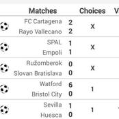 Thursday 25th Special Football Ticket With 16.77 Odds