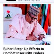 Today's Headlines: Buhari Steps Up Efforts To Combat Insecurity, Gumi Speaks On Behalf Of Bandits