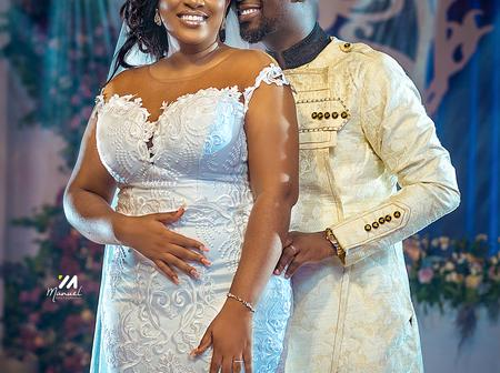 Throwback: Check Out Beautiful Wedding Photos Of Gospel Musician, Joe Mettle And His Wife