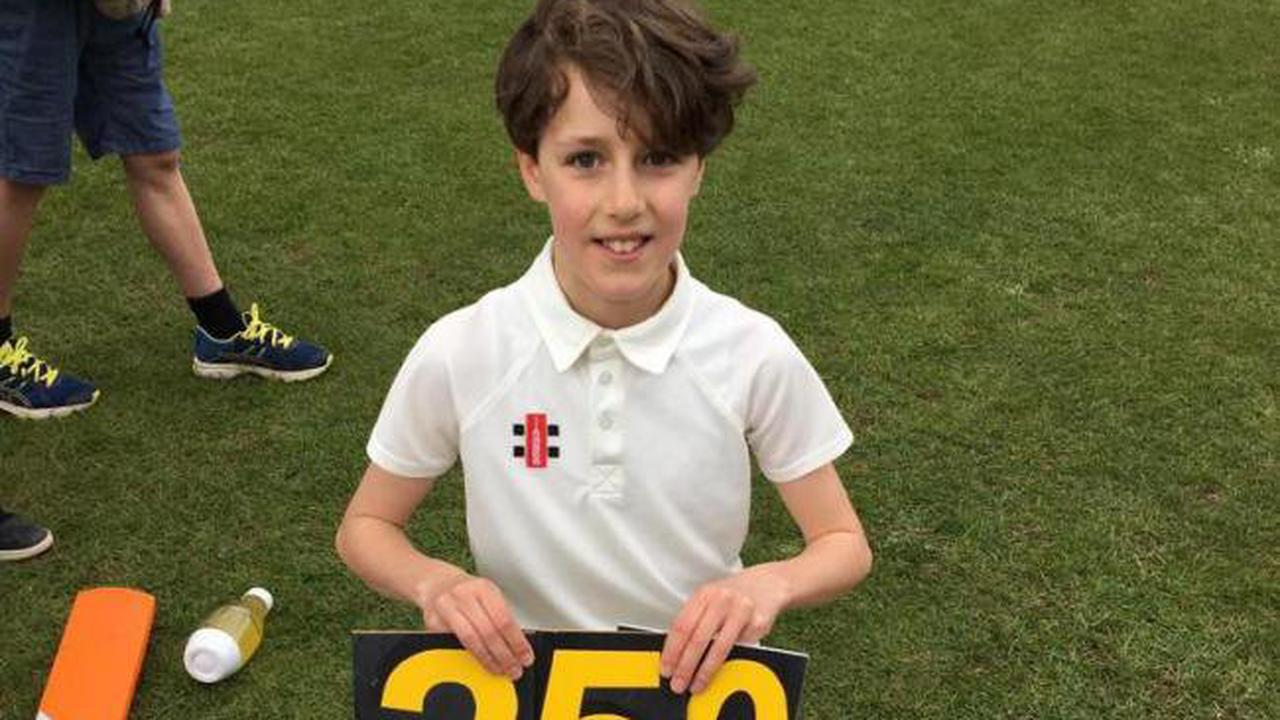 Henry, 10, raises thousands for local cricket club