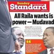 Mudavadi Reveals NASA Secrets As He Discloses Raila odinga's Plans