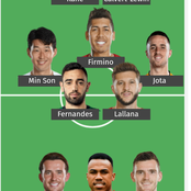 Leno, Bruno Fernandes and two other Chelsea players make EPL team of the week (Match week 9)