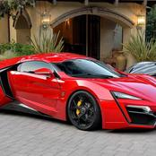 Top five most expensive cars for 2021