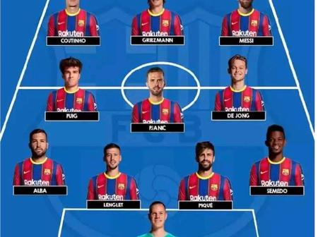 Opinion: Barca Could Trash Alaves At Mendizorrotza Stadium if Koeman Uses Any Of These Lineups
