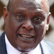 Murathe is a prophet! See What He said Concerning Kositany That Has Come To Pass