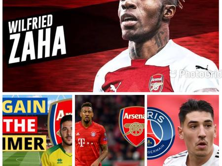 Arsenal Transfer News: Update On Bellerin, Boateng, Buendia And Wilfried Zaha