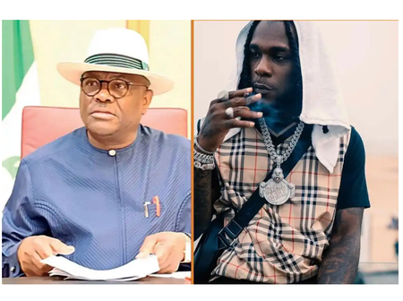 After Gov Wike Called Him The Pride Of Rivers, Read What Burna Boy Said