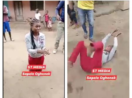 The Lady Disgraced In Public For Stealing ₦50, Read How She Scams POS Operators