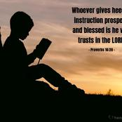 The Lord is my hope and my salvation. Declare these verses for guidance this week. 18 January 2021