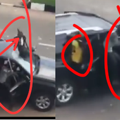 More photos of the THUGS who came with Land Cruisers allegedly own by a Politician (Video)