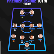 Premier League Team of The Month