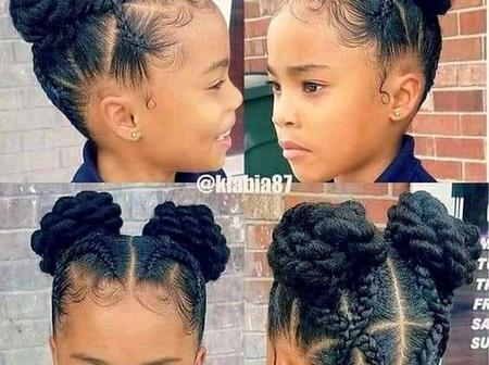 Mummy, Do You Want Your Daughter To Look Beautiful This Week? Then See Some Hair Styles To Copy
