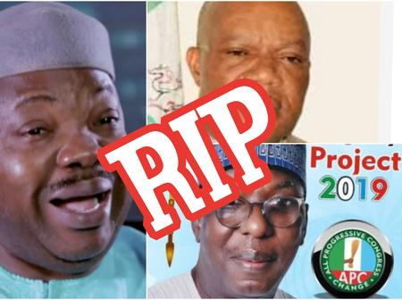 Sad: These important and prominent Nigerian men all died within the last 24 hours alone.