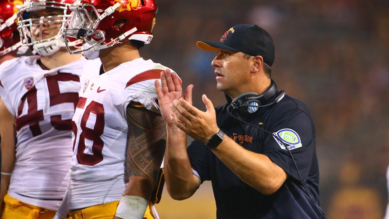 New Texas head coach Steve Sarkisian is a story of redemption