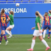 UEFA: Oshoala's Barcelona Beat Fortuna As They Get Set For UEFA Champions League Next Phase