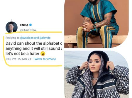 Reactions after American Singer says Nigerians should stop hating Davido