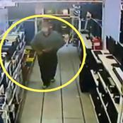Rare Footage Of White Man Stealing Goes Viral - South Africa
