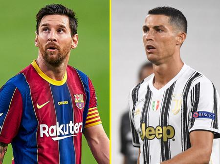 Lionel Messi scores to overtake Ronaldo on the Golden Shoe table (See full table)