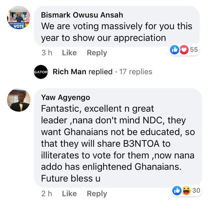 f1e22cf1596923bfb9fb370afab4f3c7?quality=uhq&resize=720 - Ghanaians React After Nana Addo Wished First Batch Of Free SHS Students Well In Their Final Exams