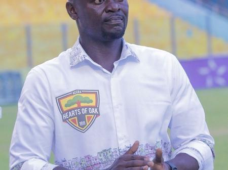 I Want to Win The Remaining Premier League Games - Hearts Of Oak Coach