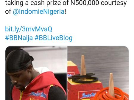BBN: Fans reacts as Neo is appointed as Biggie's assistance for today.
