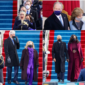 Photos: See how Obama, Clinton, Lady Gaga, Bush, others turned up for Joe Biden's inauguration