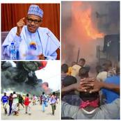 Today's Headlines: Many Killed As Boko Haram Attacks Borno State, Presidential Villa On Fire