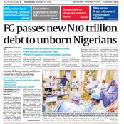 How Did We Get Here? Nigeria Passes N10 Trillion Debts To The Unborn Generation. See 5 Ways Out