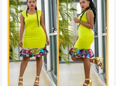 Ladies, check out these 30+ Stylish And Elegant Ankara Plain and pattern Styles to rock this month
