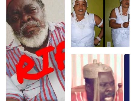 Three Nigerian Celebrities That Died This Month, See Their Pictures And What Killed Them