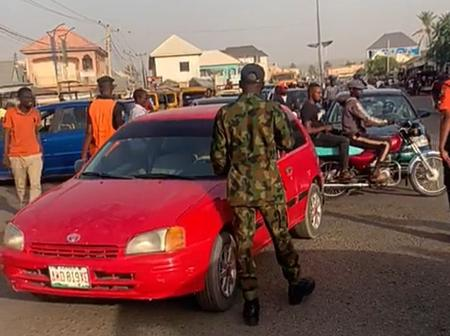 How Army Cadets Flog Motorists On Highway