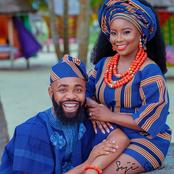 Nigerian Comedian, Woli Shares Beautiful and Stylish Pre Wedding Photos with his Fiancée