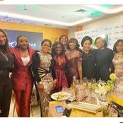 Ini Edo, Kate Henshaw, Uche Jombo, Dakore And Toyin Abraham Pose In A New Picture On Instagram