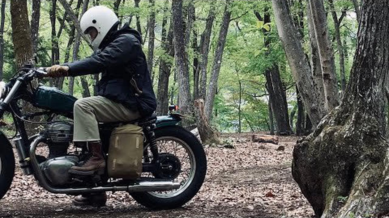Moi aussi je ferai une vidéo de camping à moto