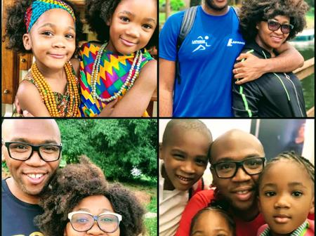 Mary Njoku is a year older today, check out lovely photos of her husband and children