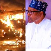 New's Today: Fire Outbreaks in Aso Rock, Bandits killed 16, Fulani stabbed man and son