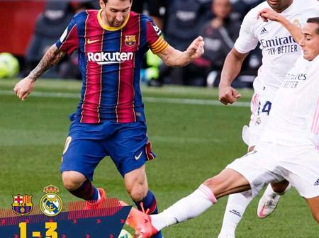 After Real Madrid Won Barcelona 3-1, Checkout What Barcelona Fans Are Saying(Photos)