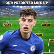 Chelsea's Strongest 3:4:3 Line Up Against Manchester United That Could Move Chelsea Back To Top Four
