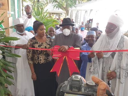 Former President Goodluck Jonathan Attended The Official Opening Of Dr. Physiq Wellness Centre.
