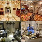 Between Aliko Dangote's Living Room And Goodluck Jonathan's, Who Has The Better Interior Design?