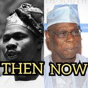 Chief Olusegun Obasanjo Is 84 Today, See Photos Of His Wives, His Children And Statue Of Honour